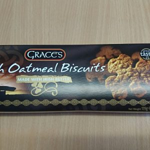 Grace's Irish Oatmeal Biscuits