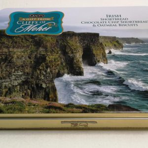 The Cliffs of Moher Biscuit Tin